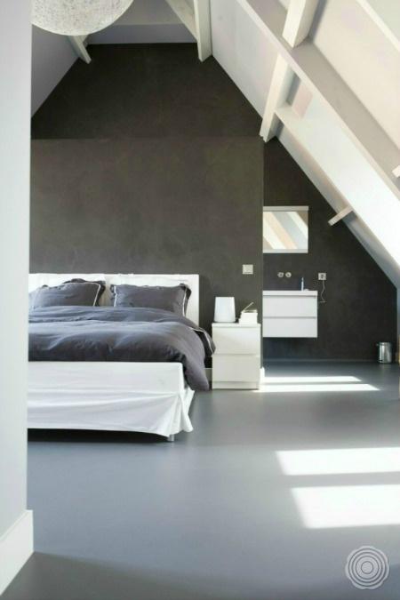 Polished Concrete Walls