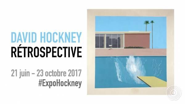 David Hockney at Centre Pompidou, Paris