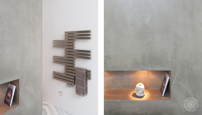 bathroom without tiles create an oasis of calm simple and lu